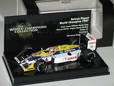 Williams FW11B - World Champions 1987 - N. Piquet - Rare  F1 1/43 minichamps