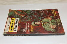 (54) The magazine of fantasy and science fiction 1957 / Gore Vidal - Boucher ...