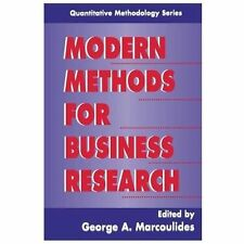 Modern Methods for Business Research (Quantitative Methodology Series)-ExLibrary
