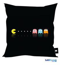 "NEW PACMAN COMPUTER GAME DESIGN CUSHION GREAT GIFT IDEA 18"" X 18"""