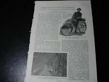 1898 CYCLING AROUND THE WORLD Victorian Bicycle Trip ~ ARTICLE & PHOTOS