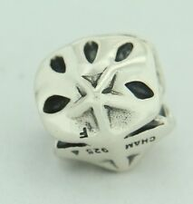 Authentic Chamilia GA-126 Sand Dollar Sterling Silver Bead Charm
