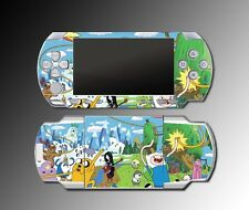 Adventure Time Jake Finn Princess Bubblegum Video Game SKIN Cover Sony PSP 1000