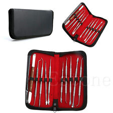1Set Stainless Steel Dentist Teeth Wax Carving Tools Instrument Kit