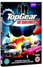 TOP GEAR CHALLENGES  5 -  BRAND NEW & SEALED DVD