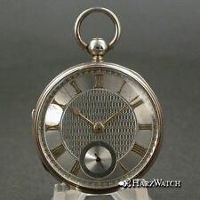 S.A. Aviolet Ipswich - Silver Lepine Taschenuhr  Pocketwatch - England 1867