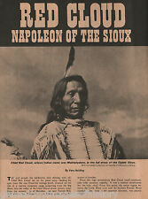 Red Cloud's Peace Conference with the President+Carrington,Denman,Grant,Powell