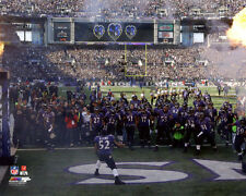 RAY LEWIS Last Ride Dance In Baltimore 8x10 Photo Purple Jersey LAST HOME GAME