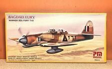 1/72 PM MODEL BAGDAD FURY HAWKER SEA FURY T-61 MODEL KIT #214