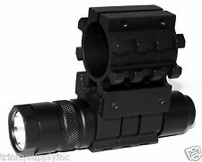 Tactical 150 Lumen Flashlight With Mount Fits 12 gauge maverick 88 pump shotgun