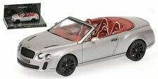 Bentley Continental Supersports Cabriolet 2010 Silver 1:43 Model 436139970