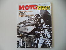 MOTO STORICHE E D'EPOCA 1/1998 MV AGUSTA OVUNQUE 125/NORTON MANX/ENZO SOLETTI