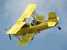 Giant 1/5.5 Scale Grumman AG Cat scratch build R/c Plane Plans & Instr 90 in. WS