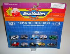 1980s Galoob MICRO MACHINES ' Super 10 ' Collection - - MOC NEW UNOPENED