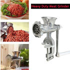 Hand Operated Crank Meat Grinder Mincer Cast Iron Pasta Maker Manual Chopper DIY