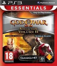 GOD OF WAR COLLECTION VOL II GOW (ESSENTIALS) PS3 Game (BRAND NEW SEALED)