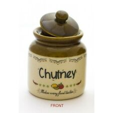 Chutney Jar (300ml),Achar Burni,Vintage Style Kitchen Storage for Pickle