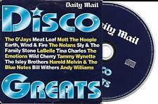 CD CARDSLEEVE COLLECTOR 15T DISCO THE O'JAYS/MEAT LOAF/LABELLE/TINA CHARLES/SLY