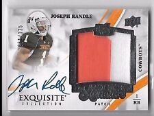 2013 Exquisite Joseph Randle On Card Auto 2 Color Patch Rc Serial # to 125