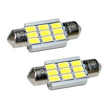 2 Stück SMD LED Soffitte C5W CANBUS 36mm weiß Kennzeichen Leuchte Lampe 12V L87