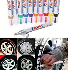 Universal Waterproof Permanent Paint Marker Metal Pen Car Tire Tread Tyre Rubber