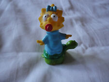 Maggie on a Turtle.The Simpsons. Burger King Toy 1990.Camping Set. RARE