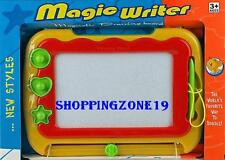 Magnetic Drawing Board Magic Writer Sketcher Magic Slate Toy Slate Doodle Pad622