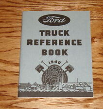 1940 Ford V-8 Truck Reference Book  Owners Operators Manual 40