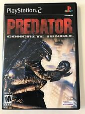 Predator Concrete Jungle - Playstation 2 - Replacement Case - No Game