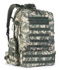 Military US Army ACU Diplomat Tactical Backpack Bug Out Bag Lg 3Day Laptop