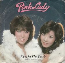 Pink Lady 70s SOUL DISCO 45 & COVER (Electra 46040) Kiss In The Dark/Walk  VG+