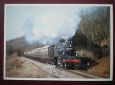 POSTCARD LMS IVATT CLASS 2 LOCO NO 45621 ON THE SEVERN VALLEY RAILWAY