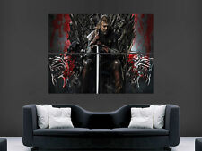 NED STARK GAME OF THRONES  LARGE PICTURE POSTER GIANT