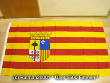 Fahnen Flagge Spanien Aragon - 90 x 150 cm