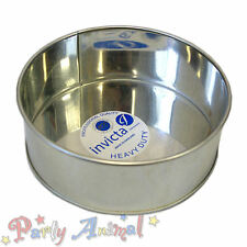 """Invicta 4"""" Inch Round High Quality Professional Cake Tin Pans / Bakeware Tins"""