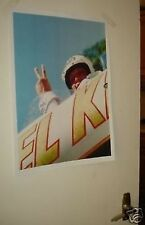 Evil Knievel Colour Door Poster