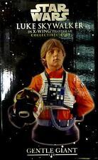 Star Wars Luke in X-Wing Gear Gentle Giant Deluxe Bust Statue new from 2005