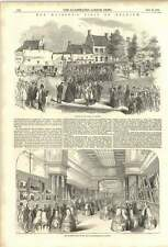 1852 Queen Visits Antwerp Art Exhibition Carriage Procession