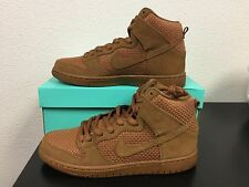 NEW NIKE DUNK HIGH Brown Ale 313171 227 sz 9.5 DeadStock