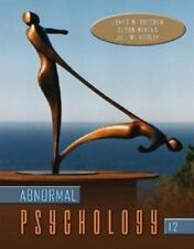 Abnormal Psychology by Hooley, Butcher, & Mineka 12th Ed Hardcover FAST SHIPPING