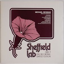 MICHAEL NEWMAN: Classical Guitar SHEFFIELD LAB Direct Disc Audiophile LP NM