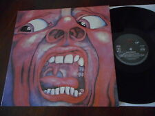 KING CRIMSON In The Court Of The Crimson King RE LP VIRGIN EG 1987 MINT