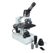 1500x Professional Biology Phase Contrast Microscope w Geological Polarizing Kit
