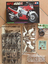 KAWASAKI GPZ 400R TAMIYA 1/12 KIT N° 14045  NEW UNUSED MAI USATA GOOD CONDITIONS