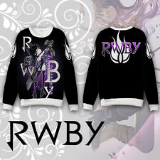 Anime RWBY Blake Belladonna Hoodie Coat Sweatshirt Cosplay Costume Long Sleeve