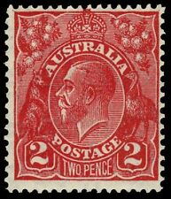 "AUSTRALIA 71v (SG99v) - King George V ""Unlisted Die I"" (pa61335bx)"