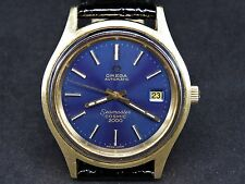 VINTAGE OMEGA SEAMASTER COSMIC 2000 GOLD CAPPED SWISS MADE AUTOMATIC MENS WATCH