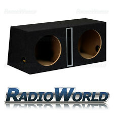 12 Pulgadas Mdf Slot Port Doble Sub caja caja del Subwoofer Bass recinto vacío Doble B