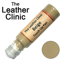 BEIGE Leather Paint Touch Up for Sofa Car Shoes Handbag & more.