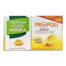 TANTUM Verde Natura Pastiglie Gommose Limone e Miele con Propoli 15 Pastiglie